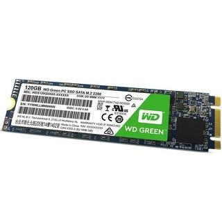 Wd Bulk Wds120g1g0b Green M.2 2280 120Gb Internal Ssd Solid State Drive - 6Gb/S