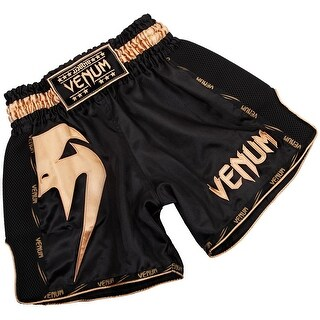 Venum Giant Lightweight Muay Thai Shorts - Black/Gold