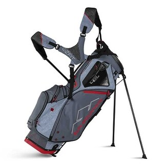 Sun Mountain 2018 4.5 LS Stand Bag - Charcoal / Gunmetal / Red - CLOSEOUT - charcoal / gunmetal / red