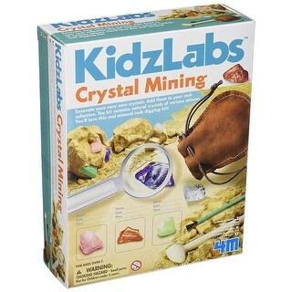 4M Kidz Labs Crystal Mining Kit