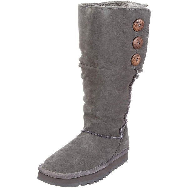 26355b22a22 Skechers Womens Keepsakes Round Toe Knee High Cold Weather Boots - 5