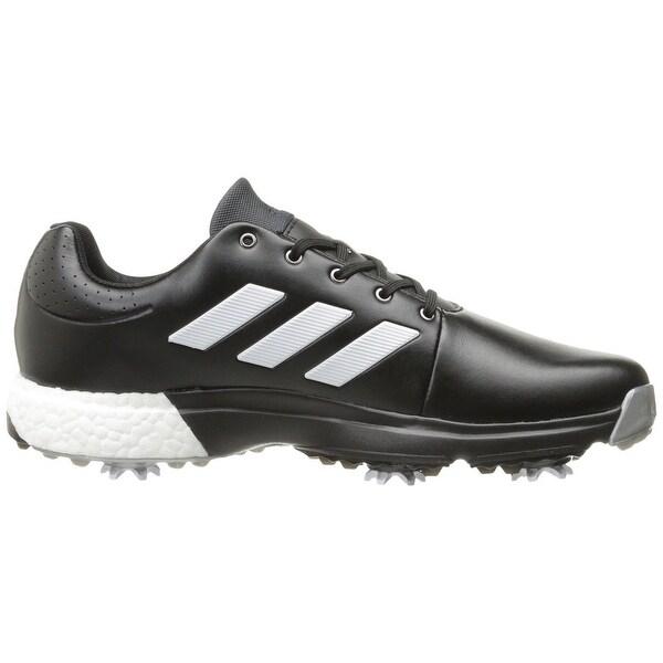 Adidas Men's Adipower Boost 3 Core Black/White/Silver Met. Golf ...