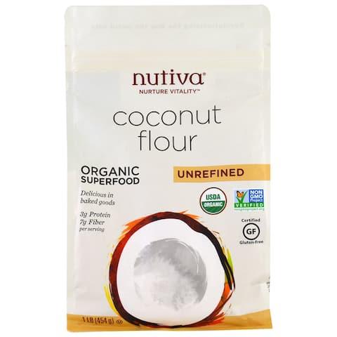 Nutiva Organic Virgin Oil - Coconut - Case of 6 - 1 lb.