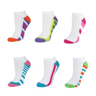 Jefferies Socks Women's Tech Sport Ankle Socks (Pack of 6)