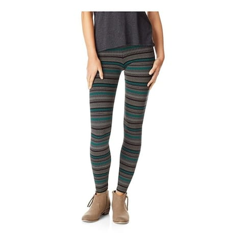 Aeropostale Womens Stretch Legging Athletic Track Pants, green, Small