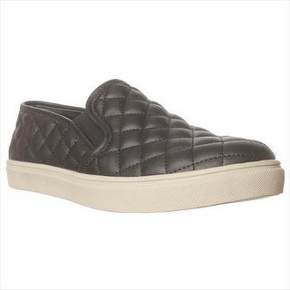 Steve Madden Ecentrcq Quilted Fashion Sneakers - Black