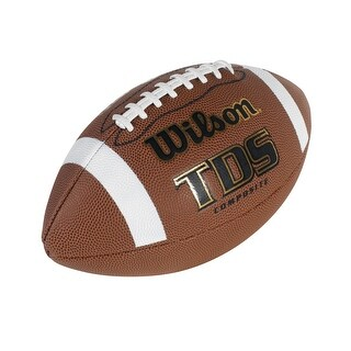Wilson NFHS TDS Regulation Size Composite Football