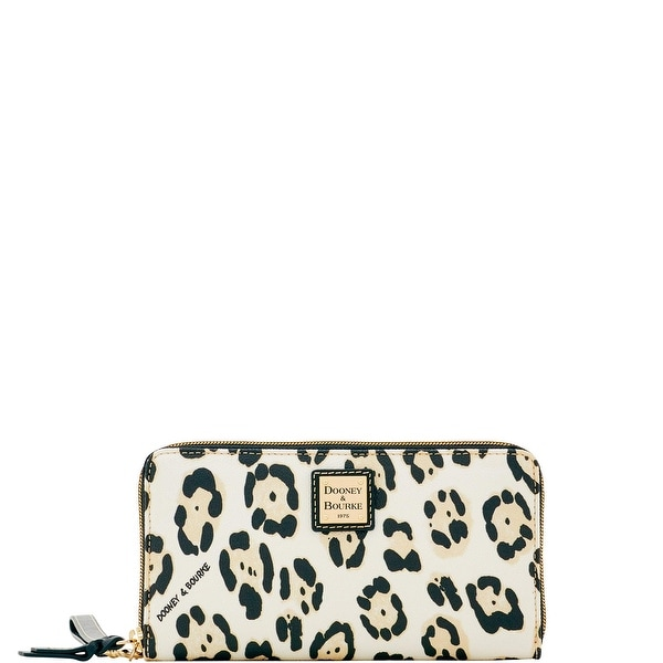 Dooney & Bourke Serengeti Large Zip Around Wristlet (Introduced by Dooney & Bourke at $138 in Jun 2017)
