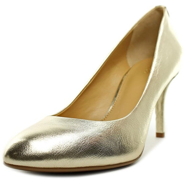 Michael Michael Kors Flex Pump Women Pale Gold Pumps