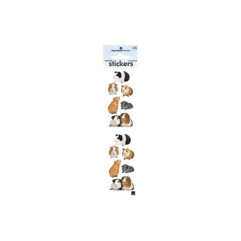 St-2237e paper house sticker guinea pigs