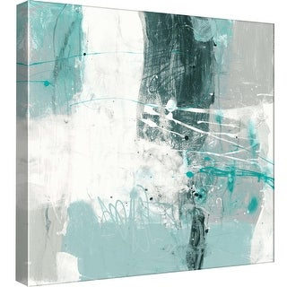 """PTM Images 9-98835  PTM Canvas Collection 12"""" x 12"""" - """"Interstellar E"""" Giclee Abstract Art Print on Canvas"""