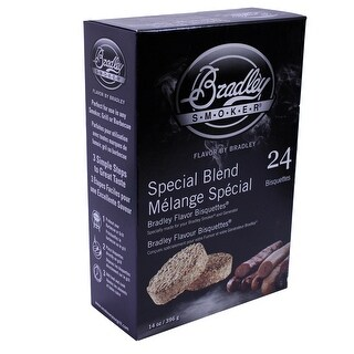 Bradley Smokers 106698 Special Blend Bisquettes Smoker, 24-Pack