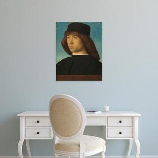Easy Art Prints 's 'Portrait of a Young Man, c. 1490' Premium Canvas Art