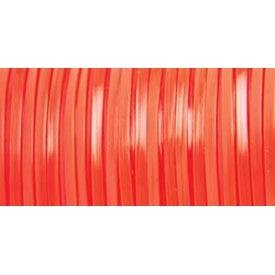 "Neon Orange - Rexlace Plastic Lacing .0938""X100yd"