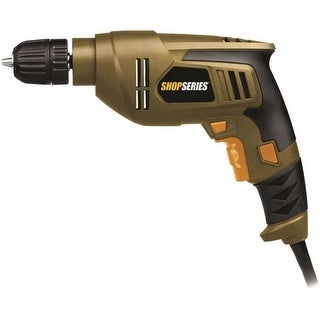 "Rockwell SS3003 ShopSeries Electric Drill, 3/8"", 4.5 Amp"
