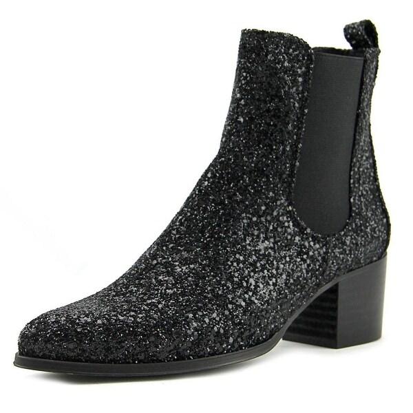 Sixtyseven 78656 Women Glitter Black Elastico Black Boots