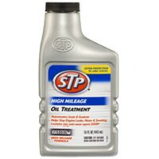 STP 78595 High Mileage Oil Treatment 15 Oz