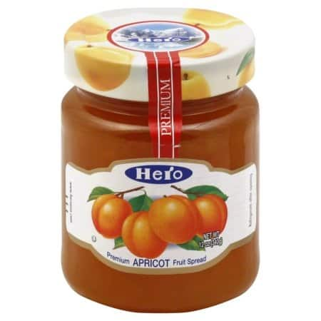 Hero Fruit Spread - Apricot - Case of 8 - 12 oz.