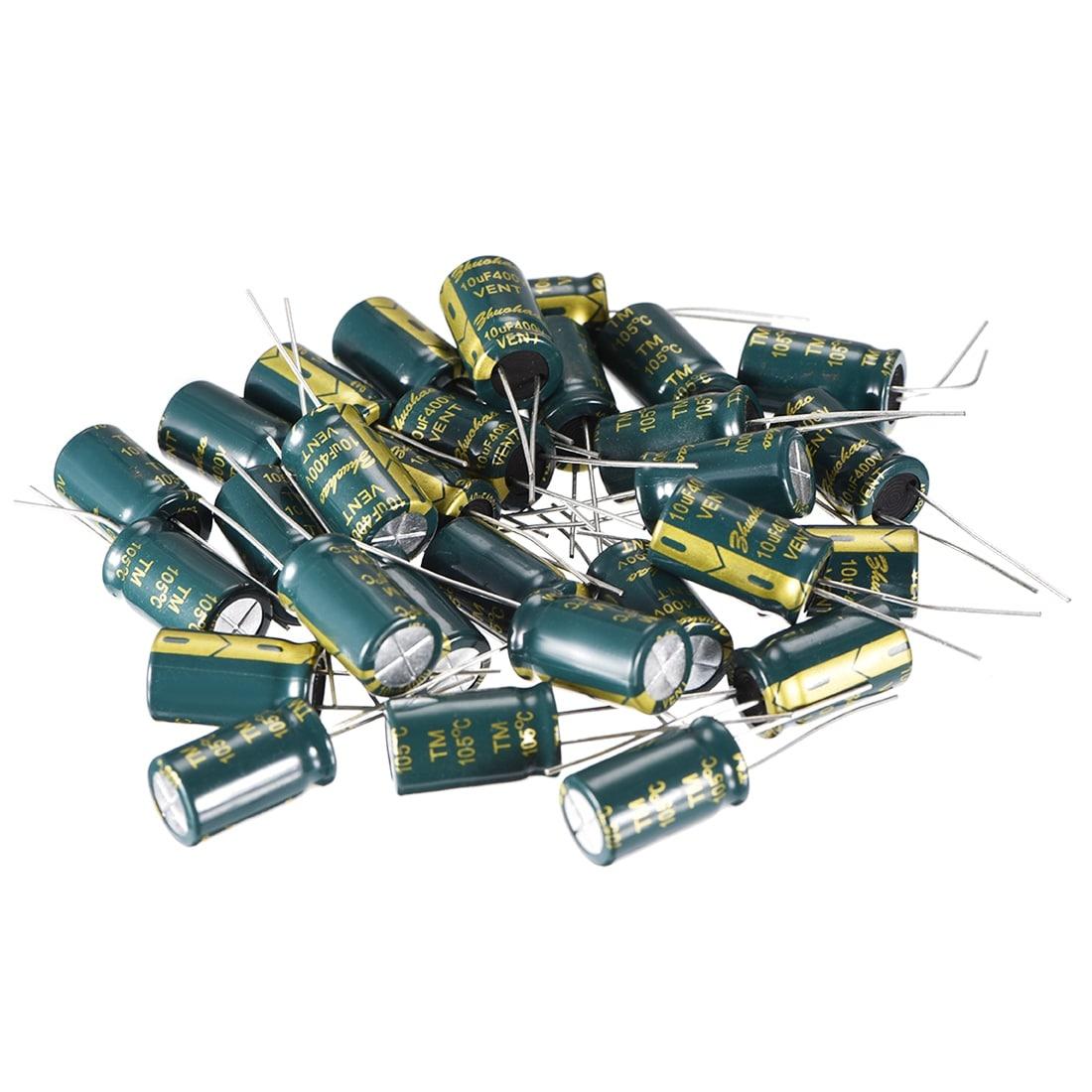 100 x 3.3uF 50V 105C Radial Electrolytic Capacitor 5x11 Free USA SHIPPING