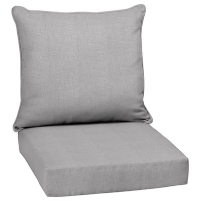 Arden Selections Paloma Woven Outdoor 24 x 24 in. Deep Seat Cushion Set - 24 W x 24 D in.
