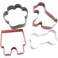 Pet Theme - Metal Cookie Cutter Set 4/Pkg