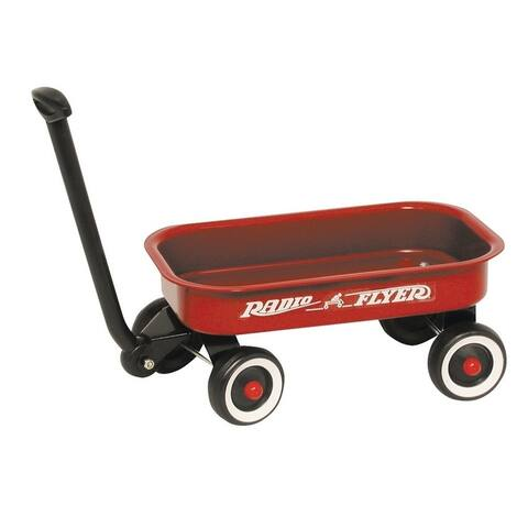 "Radio Flyer W5 Little Wagon, 12.5"" x 7.5"" x 2"", Red"
