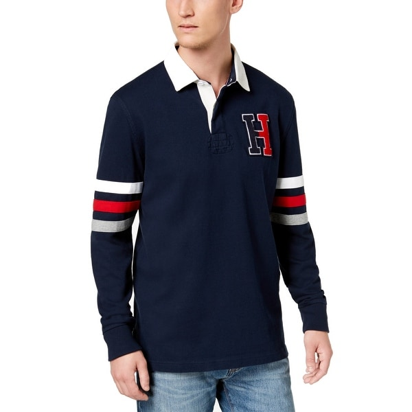 b2715b9f Shop Tommy Hilfiger Blue Men Small S Kunitz Rugby Classic Fit Polo Shirt -  Free Shipping On Orders Over $45 - Overstock - 28286047