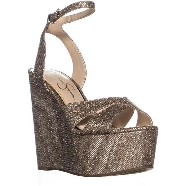 c05ee800e54 Shop Jessica Simpson Prena Wedge Sandals