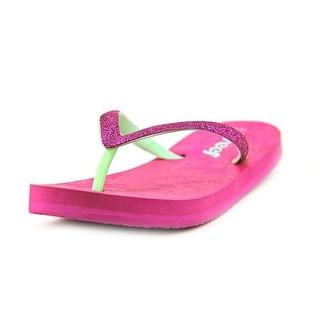 Reef Little Stargazer Luxe Open Toe Synthetic Thong Sandal