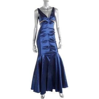 Xscape Womens Semi-Formal Dress Taffeta Embellished