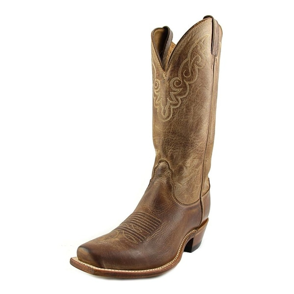 Nocona Cozy LD45 Women Square Toe Leather Tan Western Boot