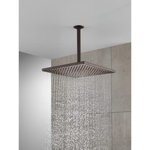 Delta Universal Showering Components Single-Setting Metal Raincan Shower Head (52159-RB25)