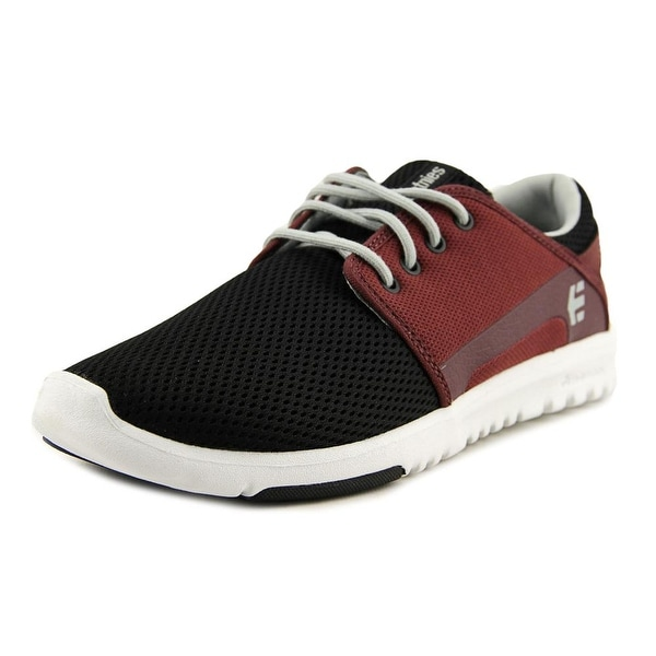 Etnies Scout Men Black/Red/Grey Skateboarding Shoes