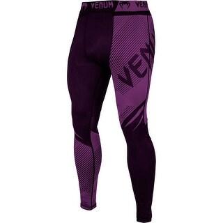 Venum No-Gi 2.0 MMA Compression Spats - Black/Purple