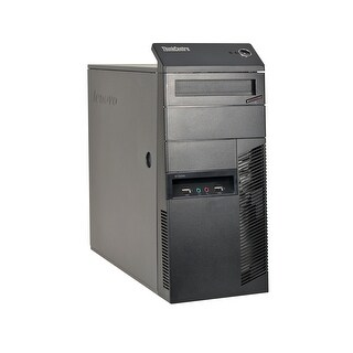Lenovo ThinkCentre M91P Core i7-2600 3.4GHz CPU 4GB RAM 500GB HDD Windows 10 Pro Tower Computer (Refurbished)