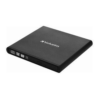 Link to Verbatim Slimline Blu-ray Writer, External, USB, 6X Similar Items in Optical Drives