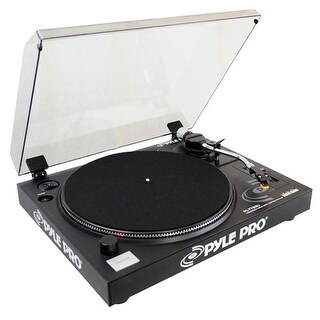 PylePro Belt Drive USB Turntable with Digital Recording Software