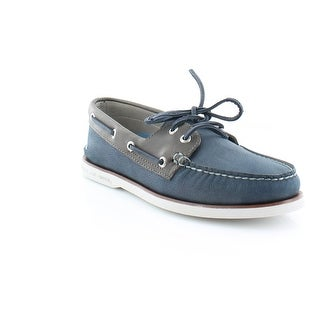 Sperry Top-Sider Gold Cup A/O Camino Men's Casual Navy/Grey
