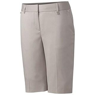 Cutter & Buck Womens Flat Front CB Dry Tec Dress Shorts
