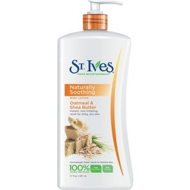 St. Ives Naturally Soothing Body Lotion, Oatmeal & Shea Butter 21 oz