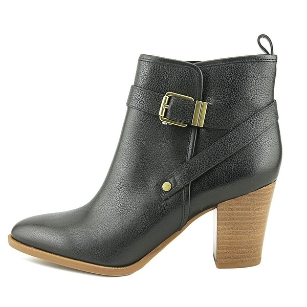 Franco Sarto Womens Delancy Leather Closed Toe Ankle Fashion Boots