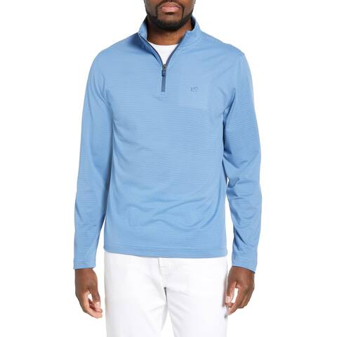 Southern Tide Mens Sweatshirt Allure Blue Size Small S Striped Headway