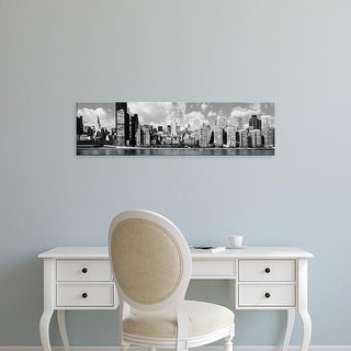 Easy Art Prints Panoramic Images's 'Skyscrapers, East River, Manhattan, New York City, New York State' Canvas Art