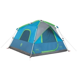 Coleman 6 Person Instant Cabin Tent With Rain Fly Free