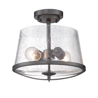 Designers Fountain 87011 Darby 2 Light Semi-Flush Ceiling Fixture