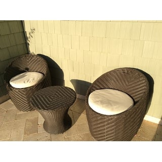La Jolla 3-piece Chat Set by Christopher Knight Home