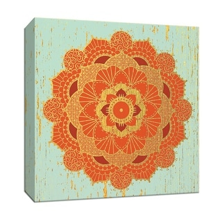 "PTM Images 9-146935  PTM Canvas Collection 12"" x 12"" - ""Moroccan Medallion II"" Giclee Asian Art Print on Canvas"