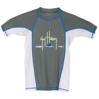 Guy Harvey Boys Fish Trail Performance Shirt