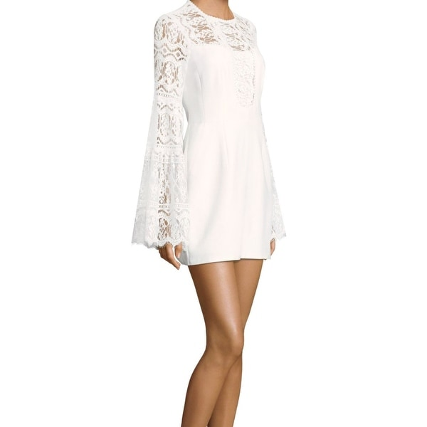 Nanette Lepore Womens Bell Sleeve Beach Cover Up Tunic