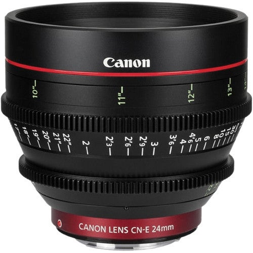 Canon CN-E 24mm T1.5 L F Cinema Prime Lens (EF Mount) (International Model)
